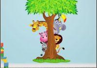 Wandtattoo Kinderzimmer Dschungel