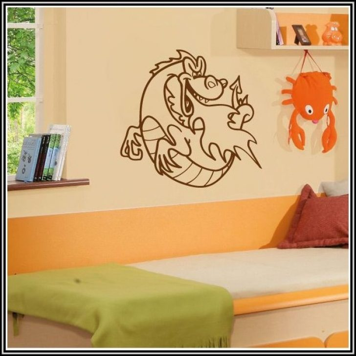Permalink to Wandtattoos Drachen Kinderzimmer