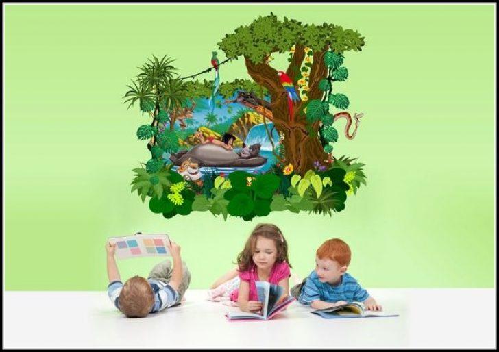 Permalink to Wandtattoos Kinderzimmer Dschungelbuch