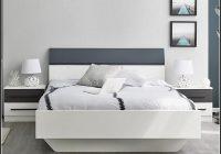Weiß Bett 140