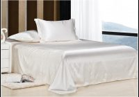 Weiß Bettlaken