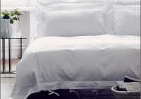 Weiß Bettwäsche Mit Lochstickerei