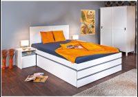 Weises Bett 140×200 Mit Schubladen