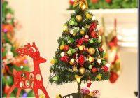 Weihnachtsbaum Mit Beleuchtung Und Schmuck
