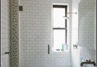 Weisse Fliesen Badezimmer