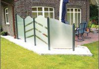 Windschutz Für Terrasse Aus Glas