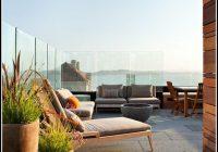 Windschutz Terrasse Aus Glas