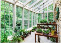 Wintergarten Auf Dem Balkon