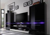 Wohnwand Mit Beleuchtung Wohnzimmer