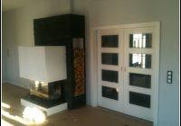 Wohnzimmer Schiebetüren Holz