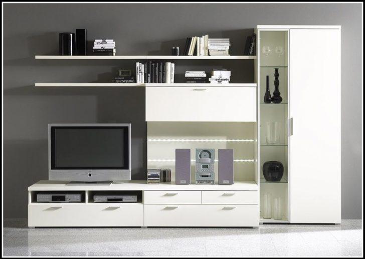 Permalink to Wohnzimmer Schrankwand Weiß
