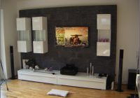 Wohnzimmer Tv Wand Selber Bauen