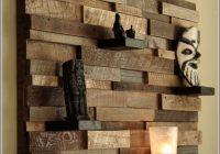 Wohnzimmer Wanddeko Holz